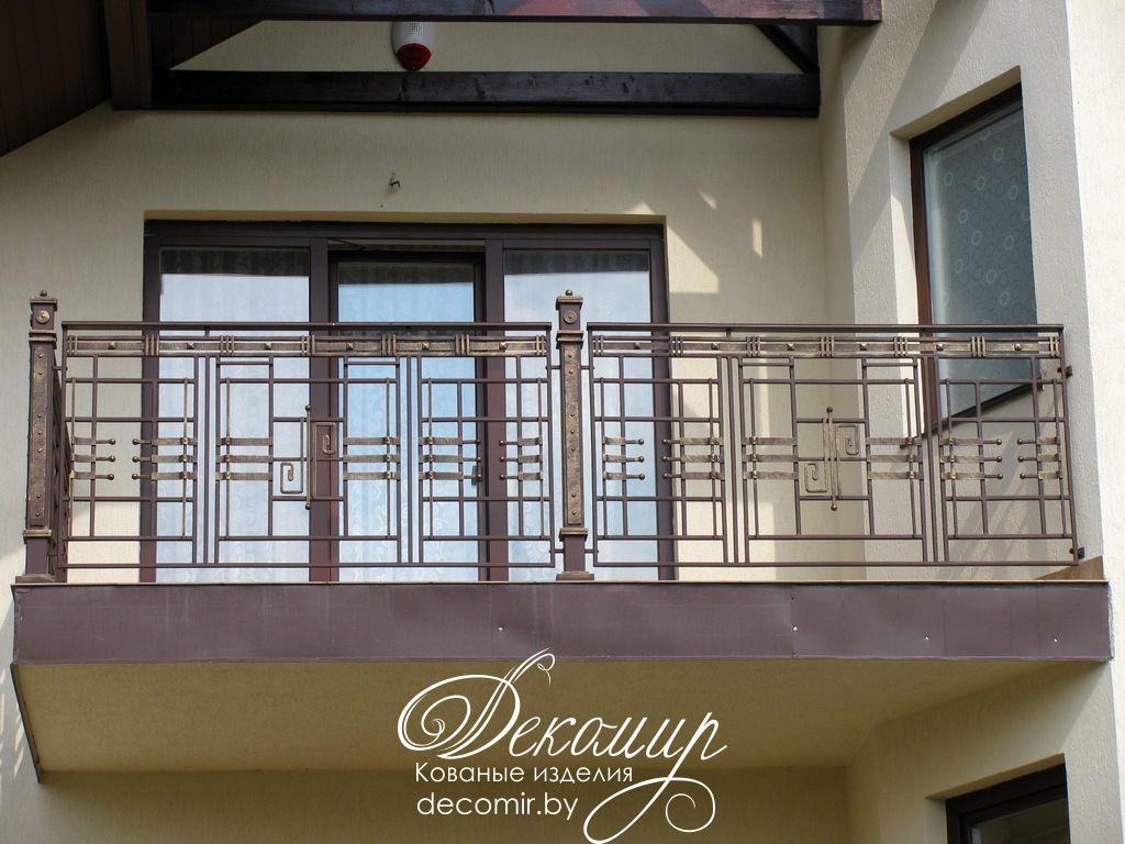 Кованый балкон