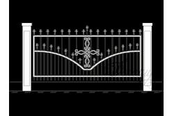 Кованый забор